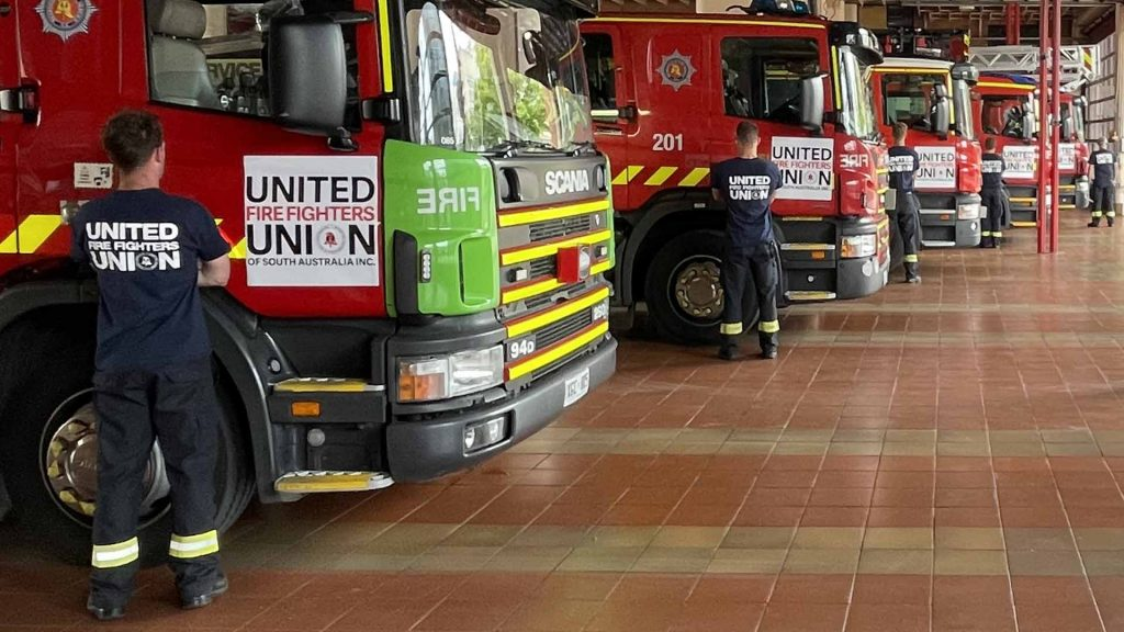 UFUSA United Fire Fighters Union Of South Australia