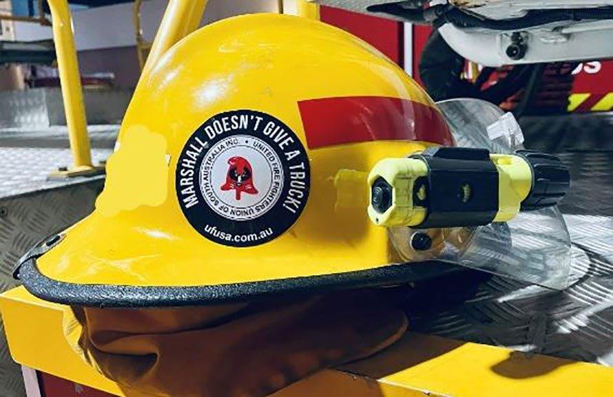 UFUSA Helmet Sticker